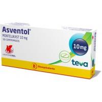 Asventol Comprimidos Recubiertos 10mg.X 30