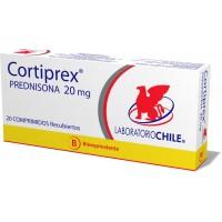 Cortiprex Comprimidos 20 mg 20