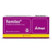 Remitex Comprimidos 10 mg 30