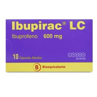 Ibupirac Lc Capsulas Blandas 600mg.10