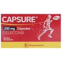 Capsure Capsulas 200 mg.10