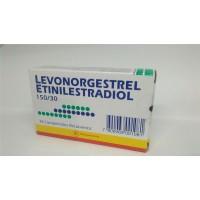 Levonorgestrel-Etinilestradiol Bioequivalente Comprimidos Recubiertos 150/30.28