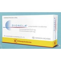 Dionela Comprimidos Recubiertos 0,15mg/0,03mg.28