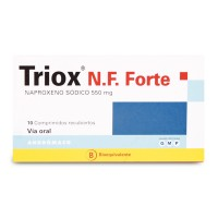 Triox N.F. Forte Comprimidos Recubiertos 550 mg .10