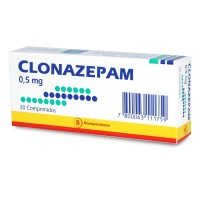 Clonazepam Bioequivalente Mintlab Comprimidos 0,5 mg.30