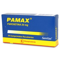 Pamax Comprimidos Recubiertos 20 mg 30