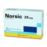 Norsic 25 mg. 30 Comprimidos