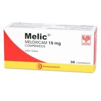 Melic Comprimidos 15 mg . 30