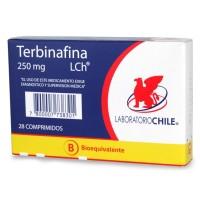 Terbinafina Clorhidrato Bioequivalente Comprimidos 250mg. 28