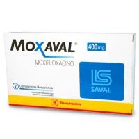 Moxaval Comprimidos 400 mg Por 7