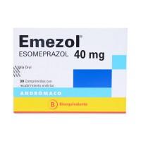 Emezol Capsulas granulos Con Recubrimiento Enterico 40 mg 30