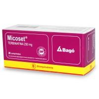 Micoset Comprimidos 250 mg 28