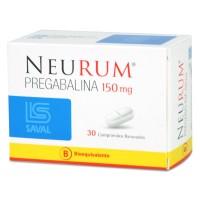 Neurum Comprimidos Ranurados 150mg.30