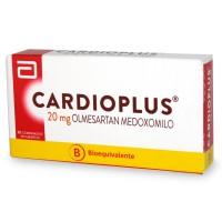 Cardioplus Comprimidos Recubiertos 20mg 30