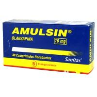 Amulsin Comprimidos Recubiertos 10 mg 30
