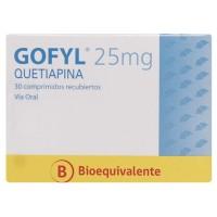 Gofyl Comprimidos Recubiertos 25mg. 30