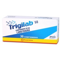 Trigilab Comprimidos 50mg.30