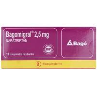Bagomigral 2,5 mg Comprimidos Recubiertos X10