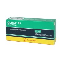 Qurax Comprimidos Recubiertos 25 mg. 30