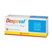 Despeval Comprimidos Recubiertos 5 mg . 40