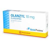 Olanzyl Comprimidos Recubiertos 10 mg (Bioequivalente).28