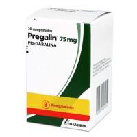 Pregalin Comprimidos 75 mg. 30