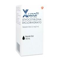 Xuzal Solucion Oral 2,5mg/5ml.150ml