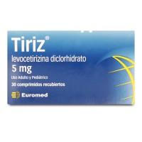 Tiriz Comprimidos Recubiertos 5mg 30
