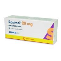 Rosimol Comprimidos Recubiertos 20mg.30