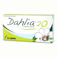 Dahlia 20 Comprimidos Recubiertos 28