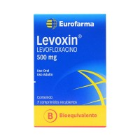 Levoxin Comprimidos Recubiertos 500mg.7