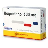 Ibuprofeno Bioequivalente Comprimidos Recubiertos 600mg.20
