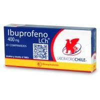 Ibuprofeno Bioequivalente Comprimidos Recubiertos 400 mg.20