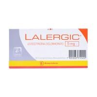 Lalergic Comprimidos Recubiertos 5mg.30