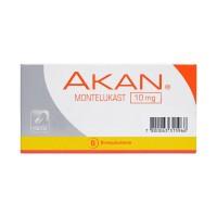 Akan Comprimidos Recubiertos 10 mg .30