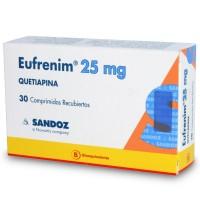Eufrenim Comprimidos Recubiertos 25mg.30