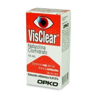 Visclear Solucion Oftalmica 0,012% 15ml