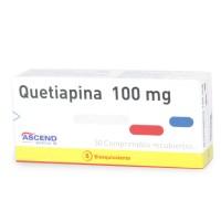 Quetiapina Bioequivalente Comprimidos Recubiertos 100mg.30