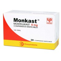 Monkast Comprimidos Masticables 5mg.28