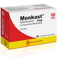 Monkast Comprimidos Masticables 4mg.28