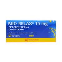 Mio Realax Comprimidos Recubiertos 10mg.20