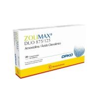 Zolimax Duo 875/125 Comprimidos Recubiertos X20