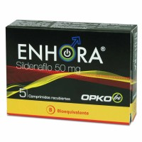 Enhora Comprimidos Recubiertos 50mg. 5
