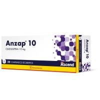 Anzap Comprimidos Recubiertos 10mg.30