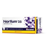 Nortium 25 Comprimidos Recubiertos 25mg.30