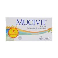 Mucivil Comprimidos 250mg.30