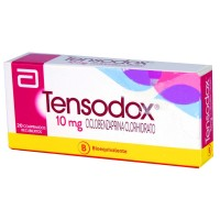 Tensodox Comprimidos 10 mg 20