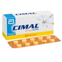 Cimal Comprimido Recubierto 20 mg.30