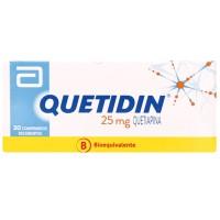 Quetidin Comprimidos 25 mg 30