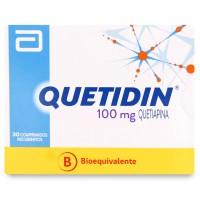 Quetidin Comprimidos 100 mg 30